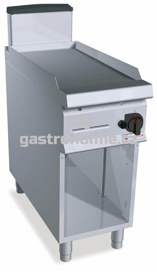 Grilovací hladká plotna Bertos SG9FL4M/CR