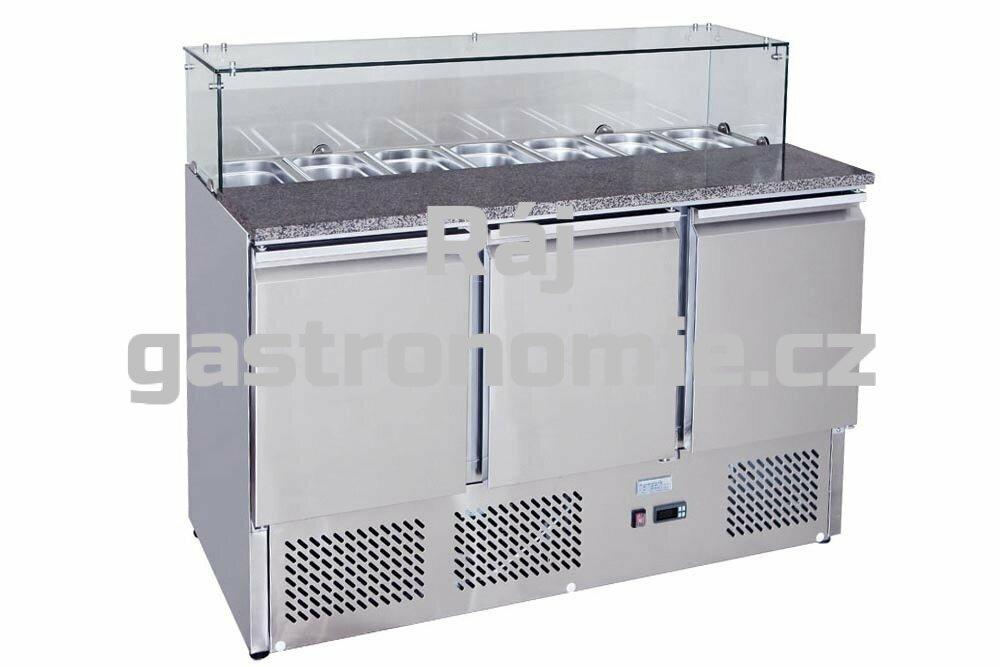 """Chladící stůl """"PIZZA - SALADETA"""" MPS-1374"""