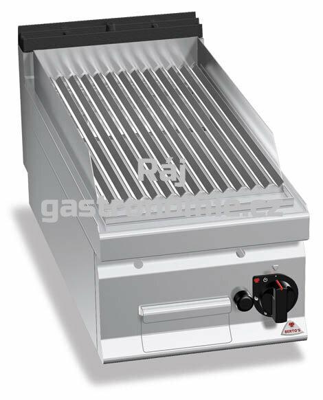 Lávový gril Bertos G9PL40B