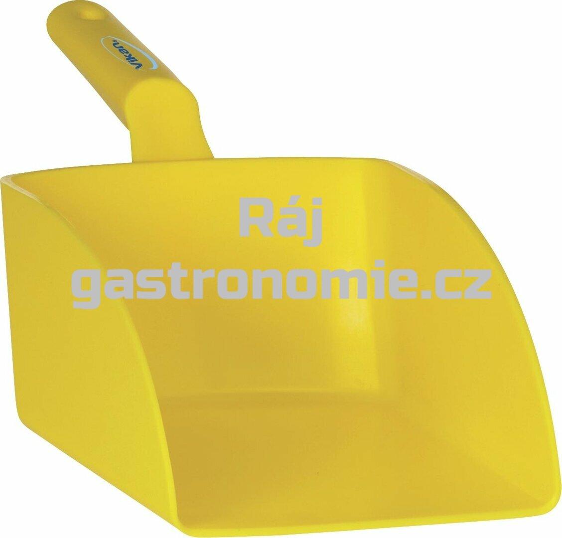 Lopatka ruční velká 2 litry - žlutá