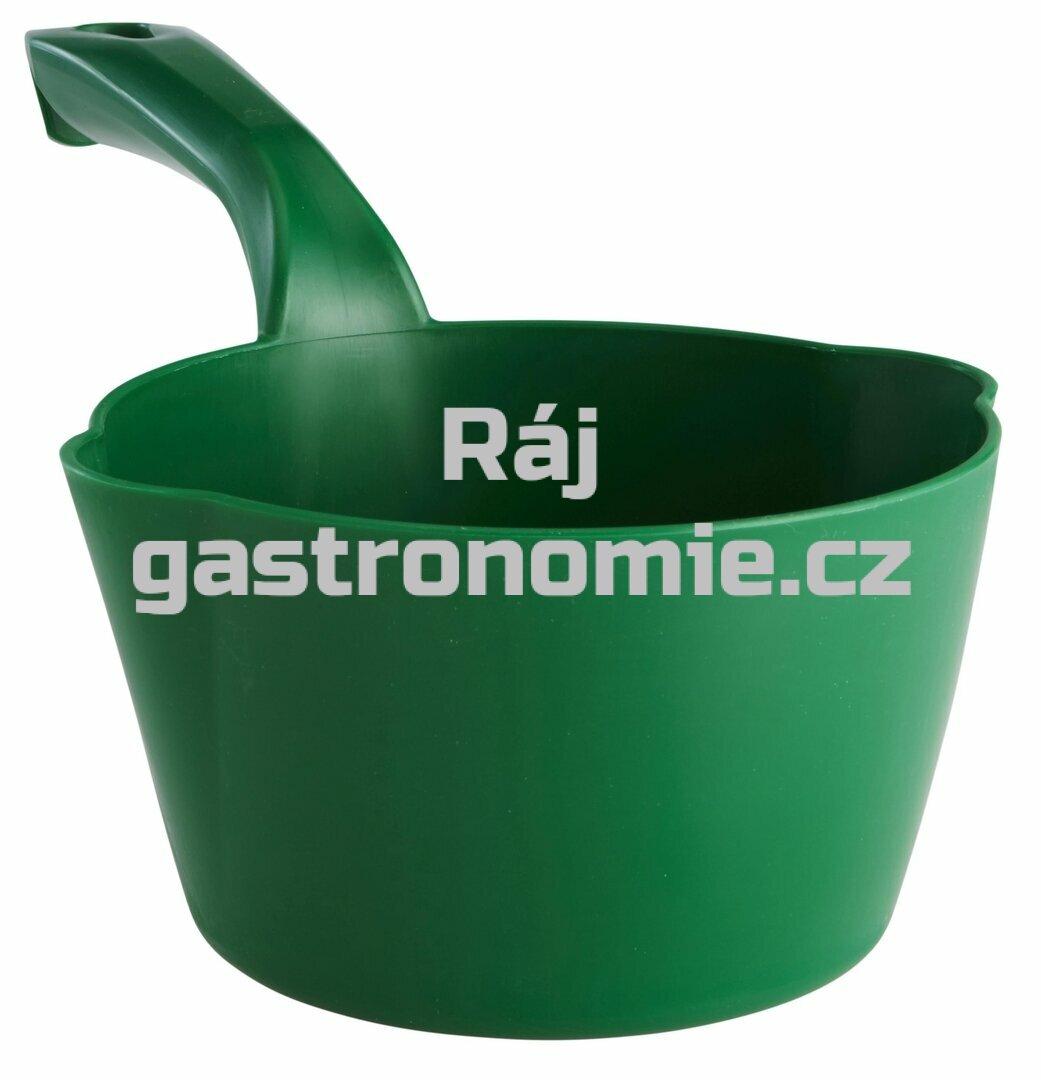 Naběračka oblá 1 litr - zelená