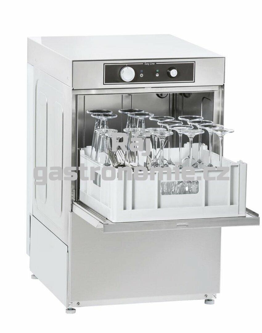 Myčka skla jednoplášťová GE-400 B/DD