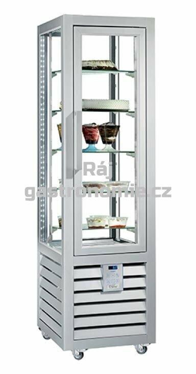 Chladící cukrářská vitrína NEO NPS250V 230 L