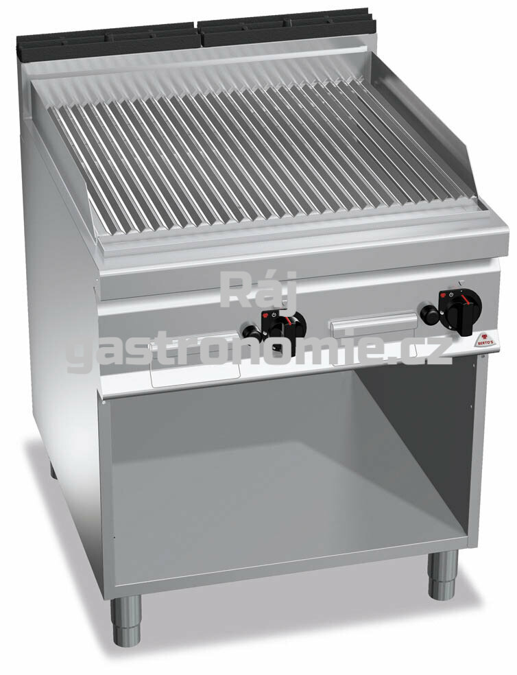 Lávový gril Bertos G9PL80M
