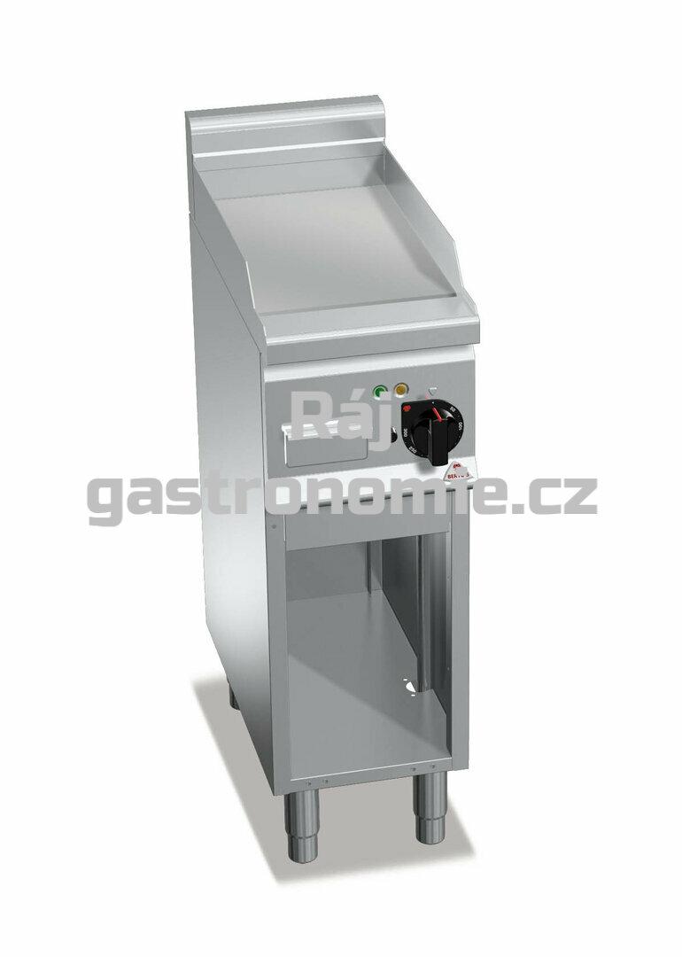 Grilovací hladká plotna Bertos E6FL3M