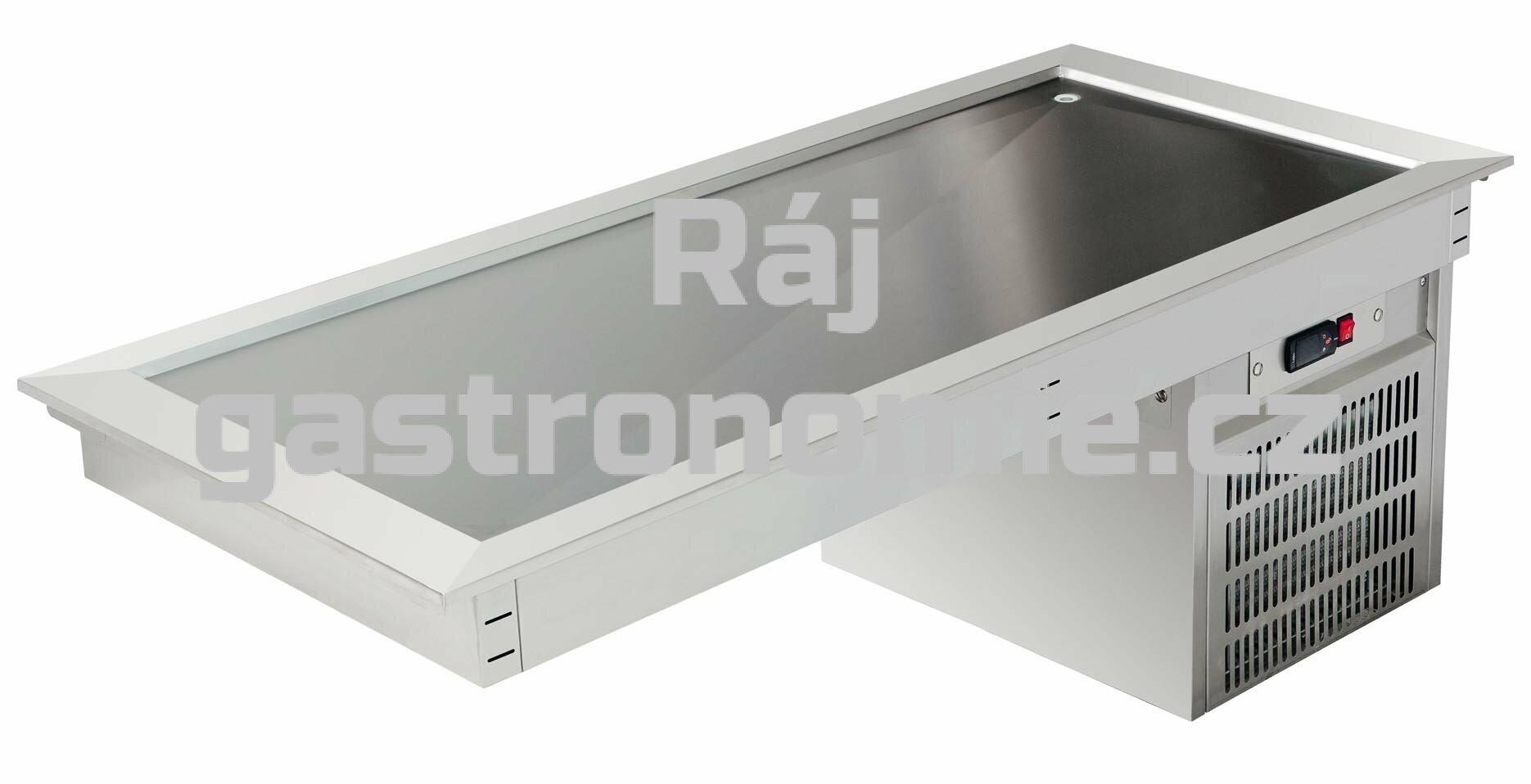 Vestavná mělká chladící deska ASBER DRTP-211 HC