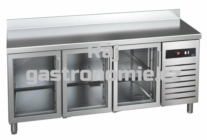 Chladící stůl GTP-7-180-30 glass - agregát vpravo