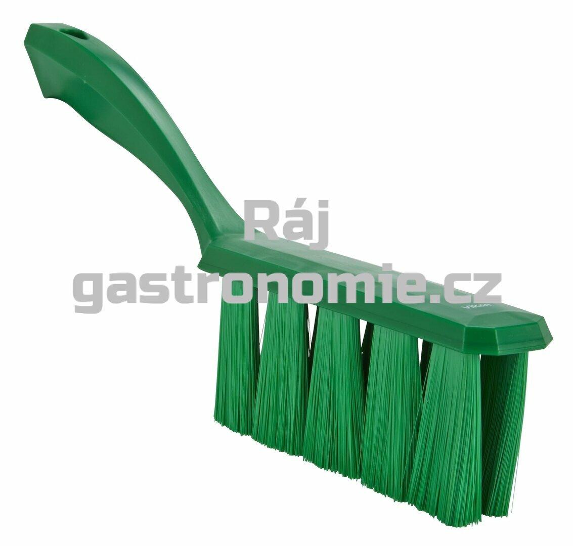 Smetáček s rukojetí UST měkký - zelený