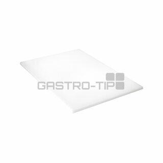 PE deska bílá 600x400x20 mm