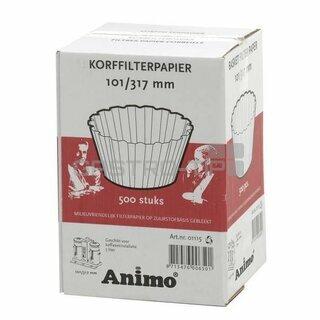 Papírový jednorázový filtr Animo (101/317)