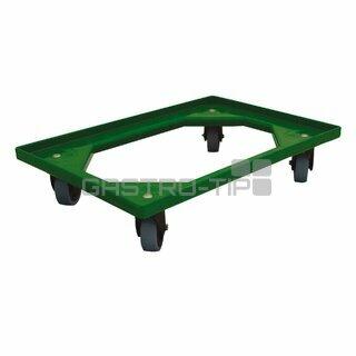Vozík 4 ot.kolečka - zelený