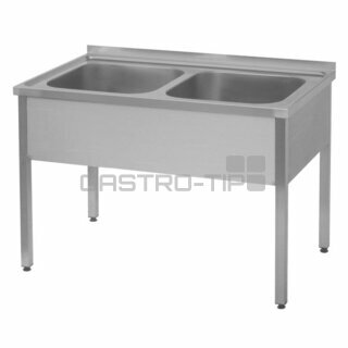 Dřez - 100x70, nádoby 2x 50x40x25 cm