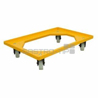 Vozík 4 ot.kolečka - žlutý