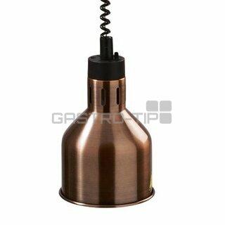 Infra lampa závěsná - měď