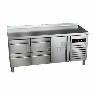 Chladící stůl GTP-7-180-14 - agregát vlevo + dřezu