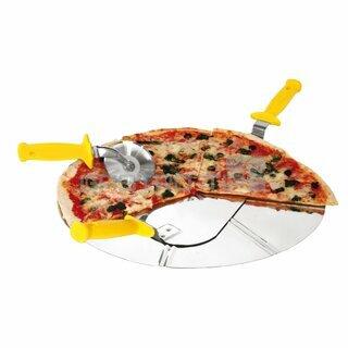 Pizza podnos (Ø450mm,3/6 porcí)
